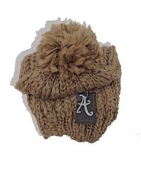 Accessorize MUSHROOM Knitted Pom Pom Beanie Hat - FreeSize