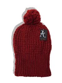 Accessorize RUST Knitted Pom Pom Beanie Hat - FreeSize