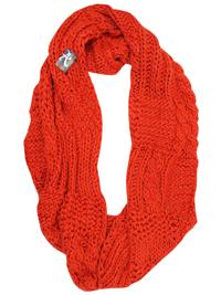 Accessorize BURNT-ORANGE Chunky Knit Snood
