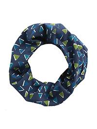 SEAS4LT NAVY Offset Triangles Waterline Galley Multi Functional Handy Head band