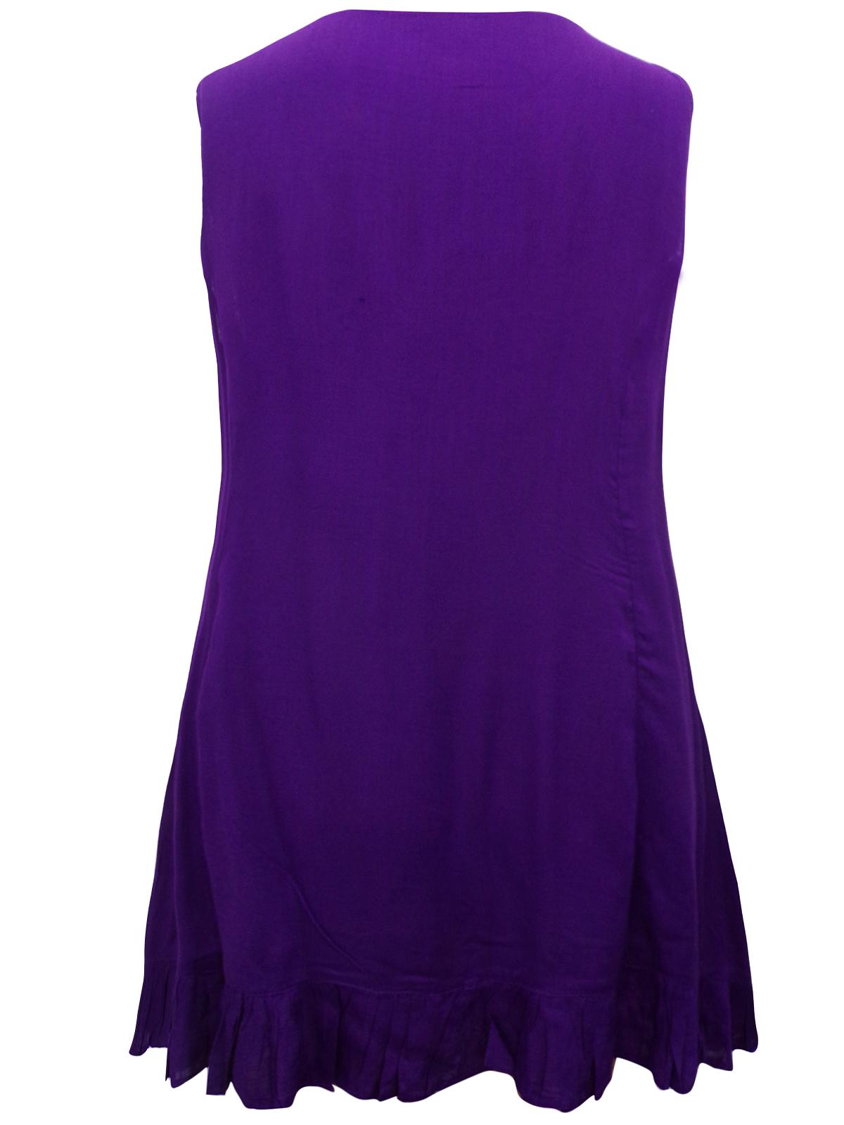 NEW Eaonplus PURPLE TIE DYE DRESS sizes 1 2 18 20 22 24 26 28
