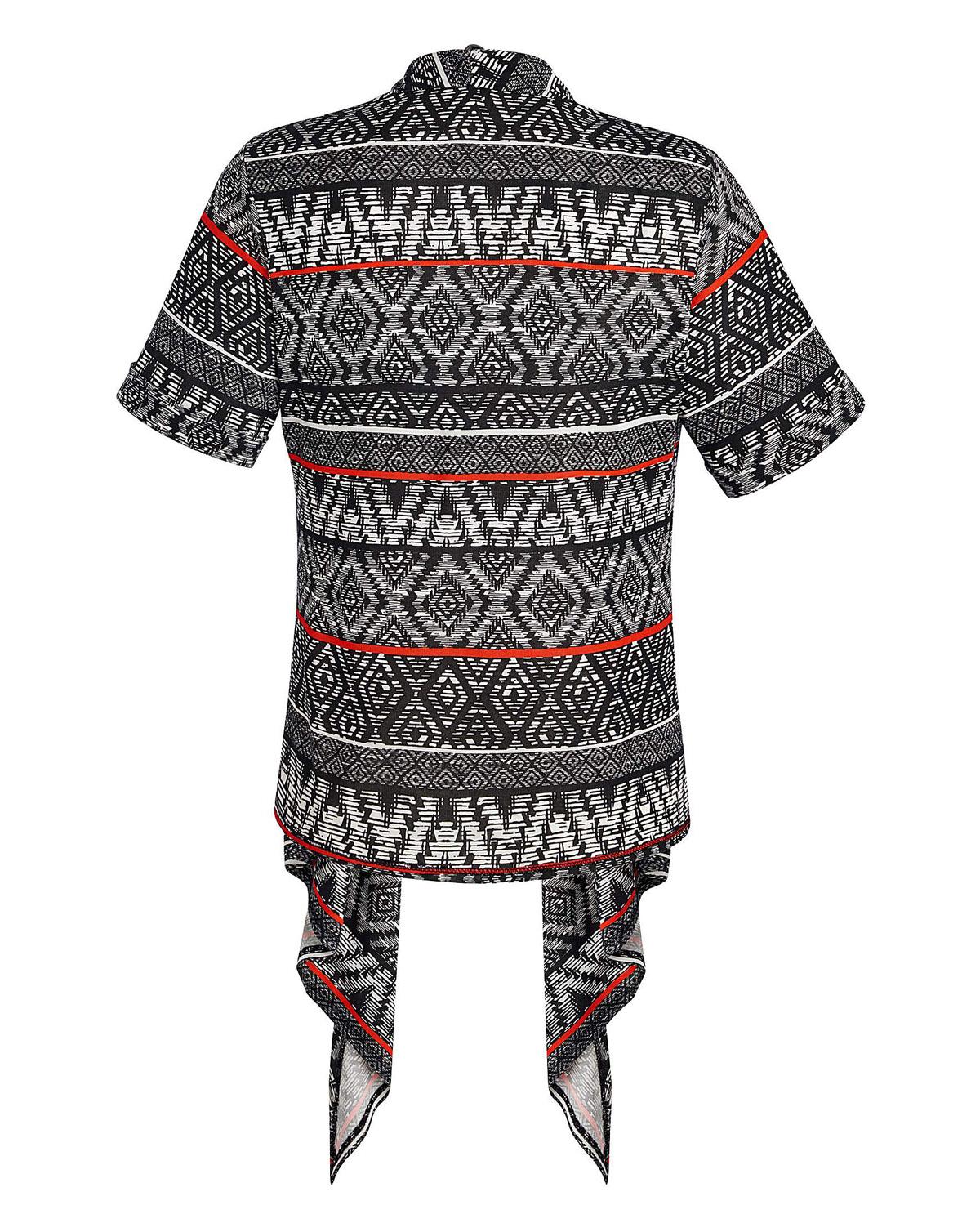 1e3a539de5ef7 Wholesale Plus Size Clothing from Marisota - - Anthology BLACK Roll-Up  Sleeve Shrug - Plus Size 10 to 30