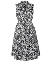 Nightingales NAVY Linen Blend Shirt Dress - Plus Size 16 to 28