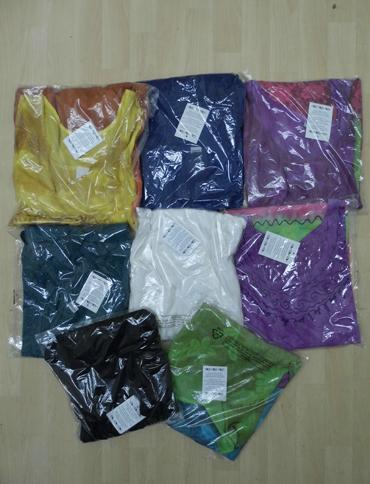 mixed Batik Tie-Dye Dipped Hem Sundress - FreeSize Fits Size 14-16-18-20