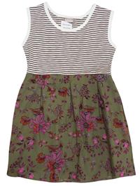 N3XT GREY Pure Cotton Sleeveless Printed Dress - Age 1/2yrs to 5/6yrs