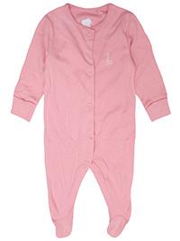 PINK Baby Girls Organic Cotton Giraffe Sleepsuit - Size 3/6M to 6/9M