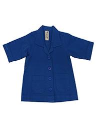 Shampoodle BLUE Baby Boys Cotton Rich Button Through Jacket - Age 3/9M