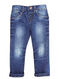 M&5 DENIM Boys Pure Cotton Adjustable Waist Jeans - Age 12/18M to 6/7Y