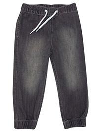 H&M GREY Boys Denim Jogger Jeans - Age 1.5/2Y to 7/8Y