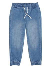 H&M LIGHT-BLUE Boys Denim Jogger Jeans - Age 2/3Y to 6/7Y