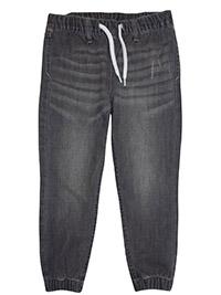 H&M GREY Boys Denim Jogger Jeans - Age 3/4Y to 7/8Y
