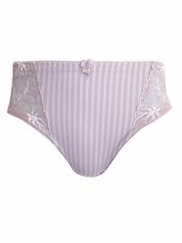 Naturana LILAC Lace Panel Bikini Briefs - Size 14 to 20 (Medium to XXLarge)