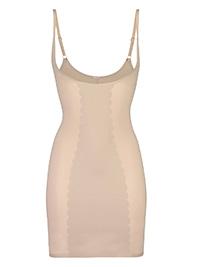 Hunkemoller NUDE Wear Your Own Bra Sculpting Scallop Dress - Size 16