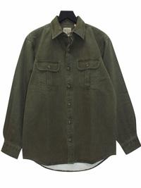 RedHead GREEN Mens Meadowlands Woven Twill Shirt - Size Medium to 2XL