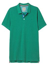 WH1TE STUFF SEA-GREEN Mens Pure Cotton Shoreside Fairtrade Polo - Size S to XXXL
