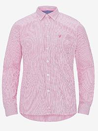 Big&Tall Mens ELLOS PINK Button Down Collar Striped Shirt - Plus Size 3XL to 6XL