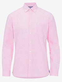 Big&Tall Mens ELLOS PINK Pure Cotton Oxford Shirt - Plus Size 4XL to 6XL