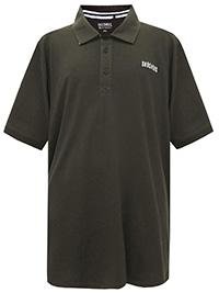 Big&Tall Mens Skechers KHAKI Pure Cotton Short Sleeve Polo - Plus Size 2XL to 5XL