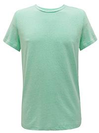DKNY MINT Mens Cotton Rich Crew Neck T-Shirt - Size XS to L