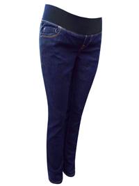 OldNavy GAP DARK-DENIM Cotton Rich Under Bump Maternity Jeans - Size 4 to 24 (EU 32 to 52)