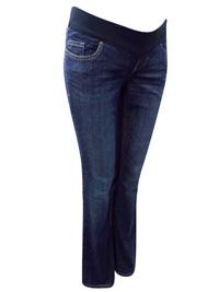 OldNavy GAP DENIM Cotton Rich Under Bump Bootleg Maternity Jeans - Size 6 to 10 (EU 34 to 38)