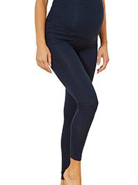 NAVY Soft Stretch Over Bump Maternity Calinkalin Leggings - Size 6/8 to 18/20 (EU 34/36 to 46/48)