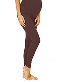 MOCHA Soft Stretch Over Bump Maternity Calinkalin Leggings - Size 6/8 to 18/20 (EU 34/36 to 46/48)