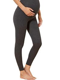 K KIABI Light-Grey Drawstring Waist Over Bump Maternity Trousers 6//8 to 22//24