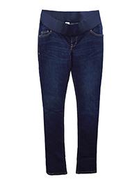 Old Navy DARK-DENIM Cotton Rich Under Bump Skinny Flare Maternity Jeans - Size 4 to 24
