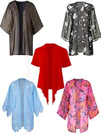 Anthology ASSORTED Shrugs & Kimonos - Size 10 to 22
