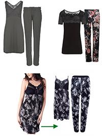 Cybele ASSORTED Lace Nightdresses & Pyjamas - Size 10
