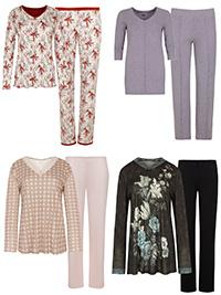 ASSORTED Plain & Printed Pyjamas - Size 10