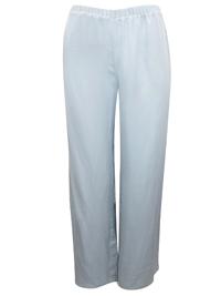 AS0S LIGHT-GREY Full Length Woven Pyjama Bottoms - Size XSmall to XLarge