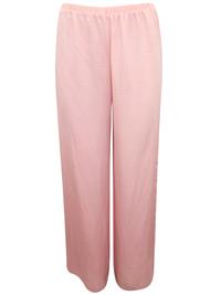 AS0S PINK Full Length Woven Pyjama Bottoms - Size XSmall to Medium