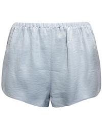AS0S GREY Pull On Pyjama Shorts - Size Medium