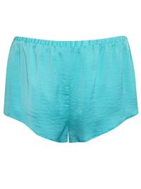 AS0S MINT Crinkle Satin Pyjama Shorts - Size Small to XLarge