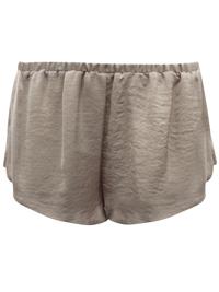 AS0S MUSHROOM Crinkle Satin Pyjama Shorts - Size Small to XLarge