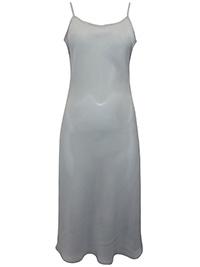 Victoria's Secret STONE Chiffon Crepe Midi Lingerie Slip - Size Small to Large