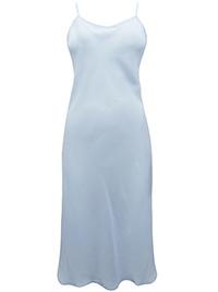 Victoria's Secret PALE BLUE Strappy Chiffon Chemise Slip - Size Small to Large