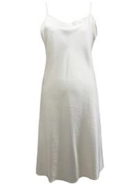 Victoria's Secret CHAMPAGNE Satin Charmeuse Thin Strap Slip Nightdress - Size Small to Large