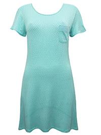 MINT Polka Dot Print Short Nightdress - Size 8 to 16