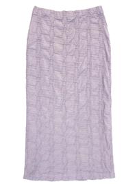 Adini MINK Latte Santorini Weave Perissa Skirt - Size 16