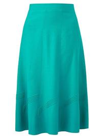 Julipa JADE Linen Blend Pull On Skirt - Size 10 to 26