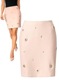 Ashley Brooke ROSA Eyelet Pencil Skirt - Size 10 to 20 (EU 36 to 46)
