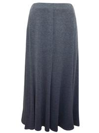 Ankush LIGHT-GREY Panelled Jersey Skirt - Size Small to XLarge