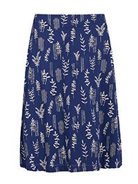SEAS4LT NAVY Cut Foliage Yacht Paint Pot Skirt - Size 6 to 20