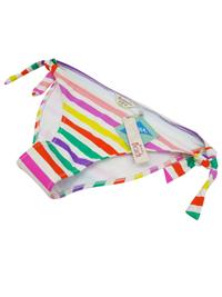 Accessorize WHITE Multi Stripe Twist Bikini Bottoms - Size 12 to 18