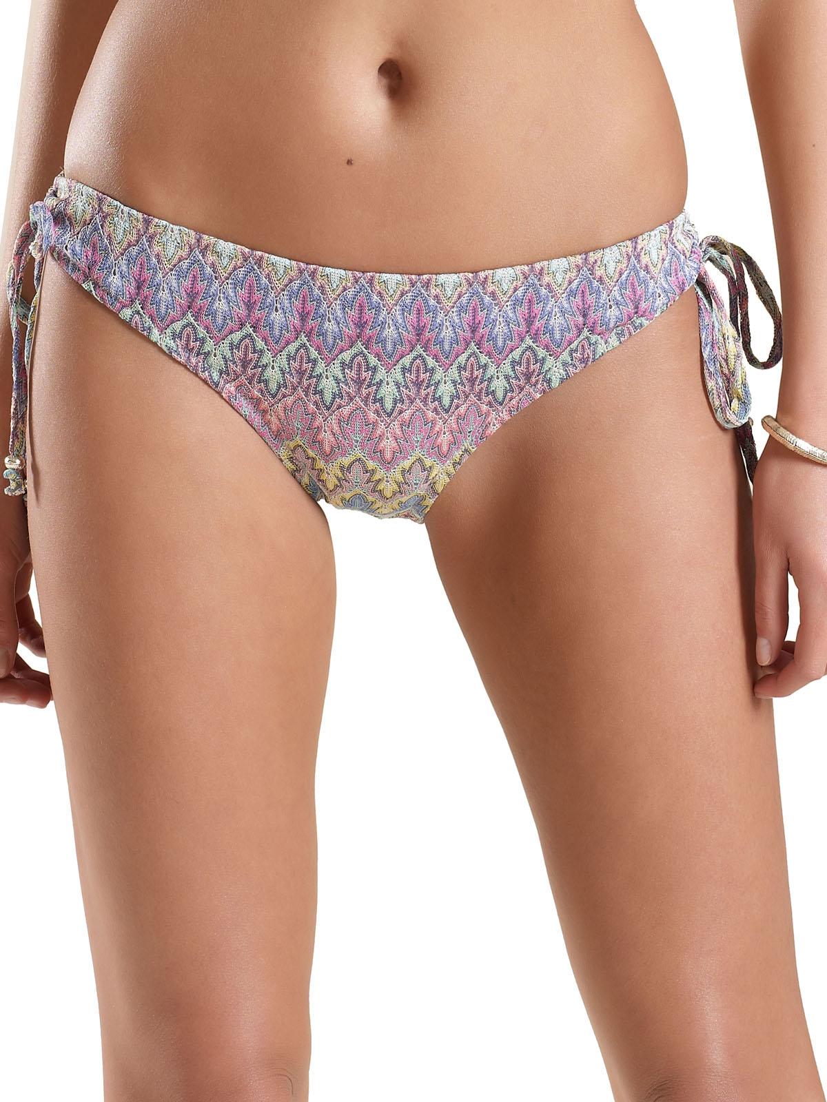 M0ns00n Accessor1ze PURPLE Leaf Crochet Bikini - Size 16 to 18