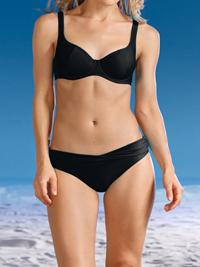 Naturana Beachwear BLACK Underwired Twist Bikini Set - Size 34 to 40 (B-C-D-DD-E)