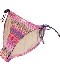 M0ns00n Accesorize PINK Crochet Knit Tie Side Bikini Bottoms - Size 10 to 18